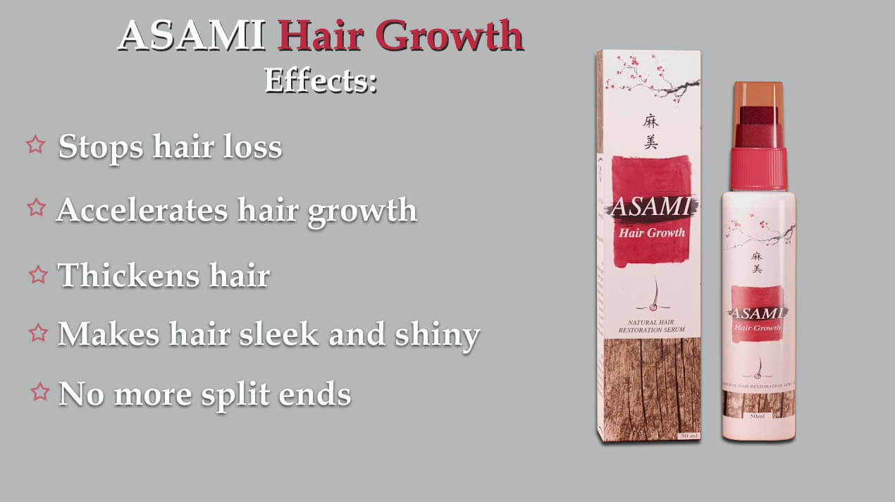 asami hair growth effect