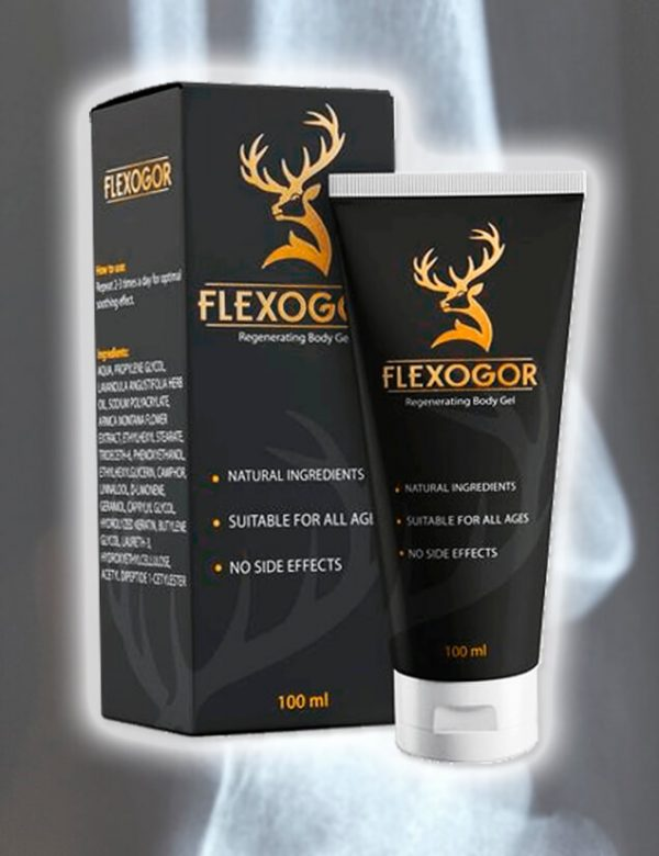 Flexogor Gel: Heals Your Joints and Eliminates Pain Sensations